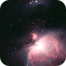 The Orion Nebula in Ha OIII,                                Kevin Smith