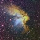 Nebulosa dello Stregone - NGC 7380,                                StefanoBertacco