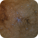 In a sea of stars: Messier 7 open cluster,                                Trần Hạ