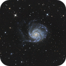 M101 - Pinwheel Galaxy,                                minoSpace