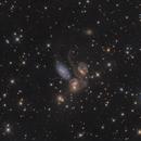 Stephan's Quintet(ngc 7317/7318/7319/7320),                                noodle