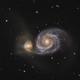 Whirlpool galaxy - M51,                                Yakov Grus