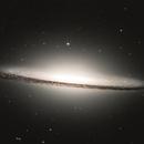 """M104 - Sombrero Galaxie - Hubble Legacy Archive Data"",                                Thomas Großschmidt"