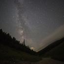Milky way over Stini do,                                Alan Ćatović