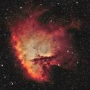 NGC 281 - The Pacman Nebula (Bicolor),                                Frank Breslawski