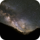 Milky Way shot in the mountains,                                Palmito