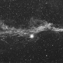 Veil Nebula - NGC 6960, H-alpha,                                PGU (Giuliano Pin...