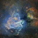 Inside M17-nébuleuse de l'oméga-SHO,                                astromat89