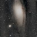 M31 - Mosaic - 1st Attempt,                                nazarine