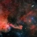 Cometary Globule 4 (CG4),                                Jeffrey K Lovelace