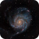 M101 - The Pinwheel Galaxy,                                bclary