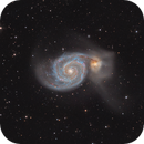 M51 whirlpool galaxy,                                Lukas_TW