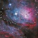 M8 The Lagoon Nebula SV305,                                Kevin Parker