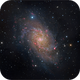 Triangulum Galaxy – M33,                                Randal Healey