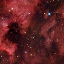 North America and Pelican Nebula,                                Byoungjun Jeong