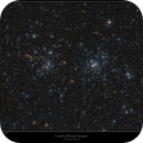 The h and x Persei Cluster - two panel mosaic,                                Frank Schmitz