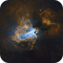 M17 Swan or Omega Nebula,                                Peter Jenkins