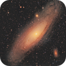 M31, Andromeda Galaxy,                                rveregin
