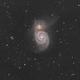 M51, The Whirlpool Galaxy,                                Yuichi Kawamoto