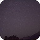 Andromeda galaxy over Pitt Lake,                                machosasquatcho