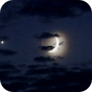 Star, moon and cloudy night,                                Param Sharma