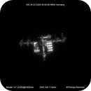 ISS March 28th 2020 20:00 over Germany,                                Thomas Klemmer