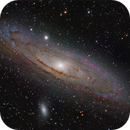 M31 LRGBHa,                                Giulio