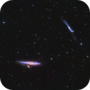 The Whale and Hockey Stick galaxies,                                Bart Delsaert