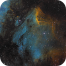 Pelican Nebula in SHO,                                Kyle Pickett