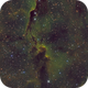IC 1396 - SHO Elephant's Trunk nebula 2 panel Mosaic,                                HomerPepsi