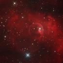 Bubble Nebula NGC 7635,                                Bert Scheuneman