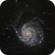 M101: LRGB from the back yard,                                Glenn Diekmann