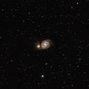 M51 Whirlpool Galaxy,                                George C. Lutch