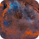IC1848 Soul Nebula @ F10/2800mm Six Panel Mosaic,                                Sean McCully