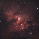 The Cave Nebula,                                Trevor Jones