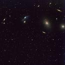 Markarian's Galaxy Chain,                                Wes Higgins