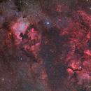 NGC 7000 and y cygnus area 4 panel mosaic,                                Stefan Westphal