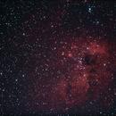 IC 410 - The Tadpole Nebula,                                AlbertNewland