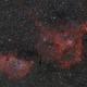 """IC 1848 & IC 1805 - The Soul & The Heart Nebulae,                                Sebastian """"BastiH..."""