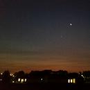 Moon and Venus,                                Jirair Afarian