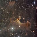 SH2-136 Ghost Nebula,                                Bill Beers