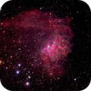 Flaming Star Nebula,                                Boommutt