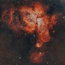 Nebulosa de Eta Carinae, Gabriela Mistral, Cúmulo de,                                Sady  Contreras