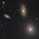 NGC 3384 M105 NGC 3389,                                Frank Colosimo