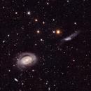 NGC 4725, NGC 4712 and NGC 4747,                                Andrew Barton
