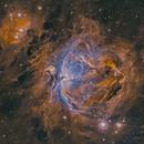 Orion in narrowband,                                RichardBoudreau