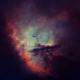 Pacman Starless in HOO - NGC281,                                Arnaud Peel