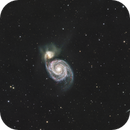M51 - The Whirlpool Galaxy,                                Peter