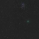 Comet 46P/Wirtanen Meets the Pleiades,                                Gary Leavitt