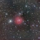 SH2-82 (Little Cocoon Nebula ) RGB And RGB with HA,                                jerryyyyy